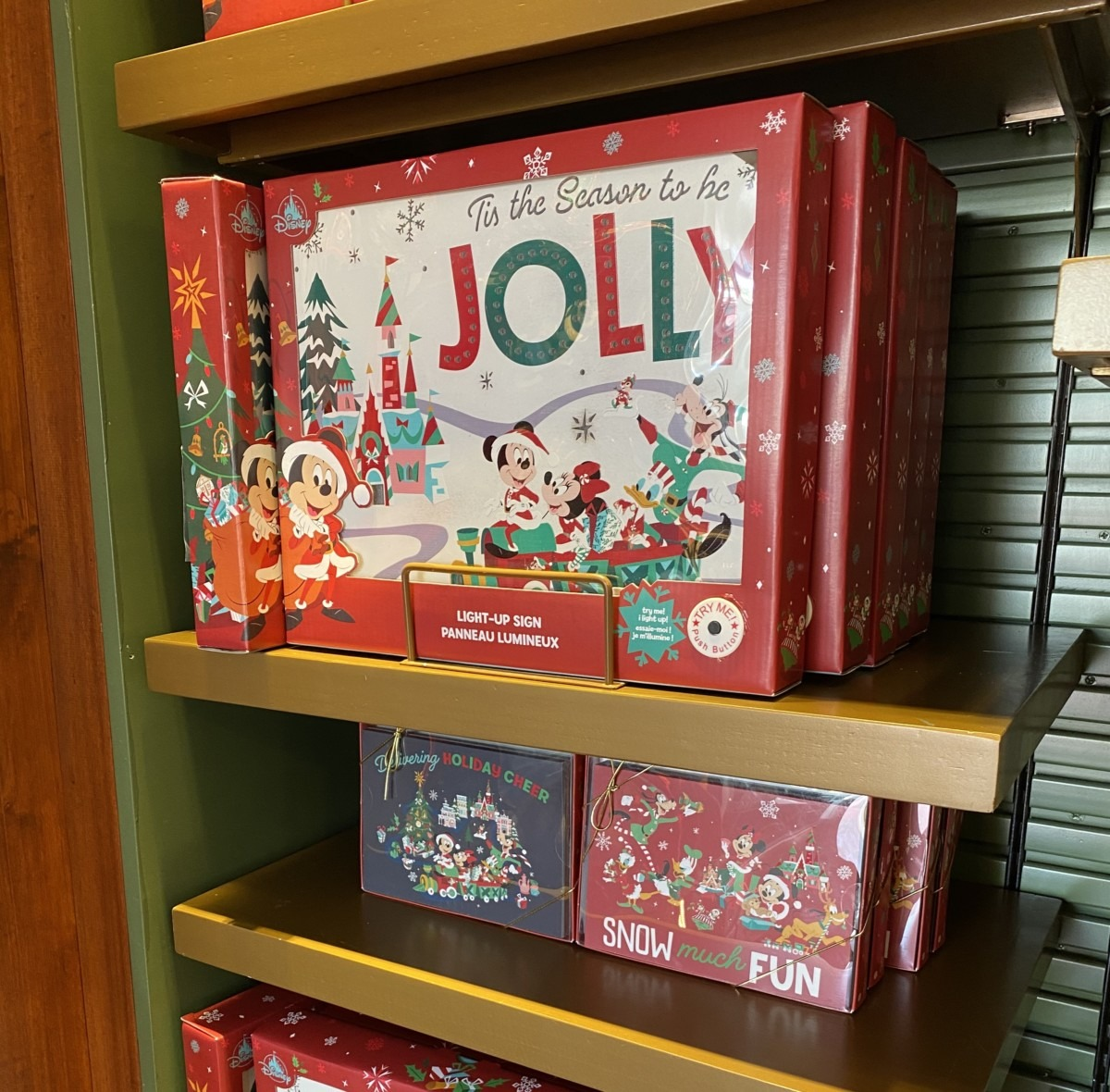 New Holiday Merchandise at Walt Disney World! 5