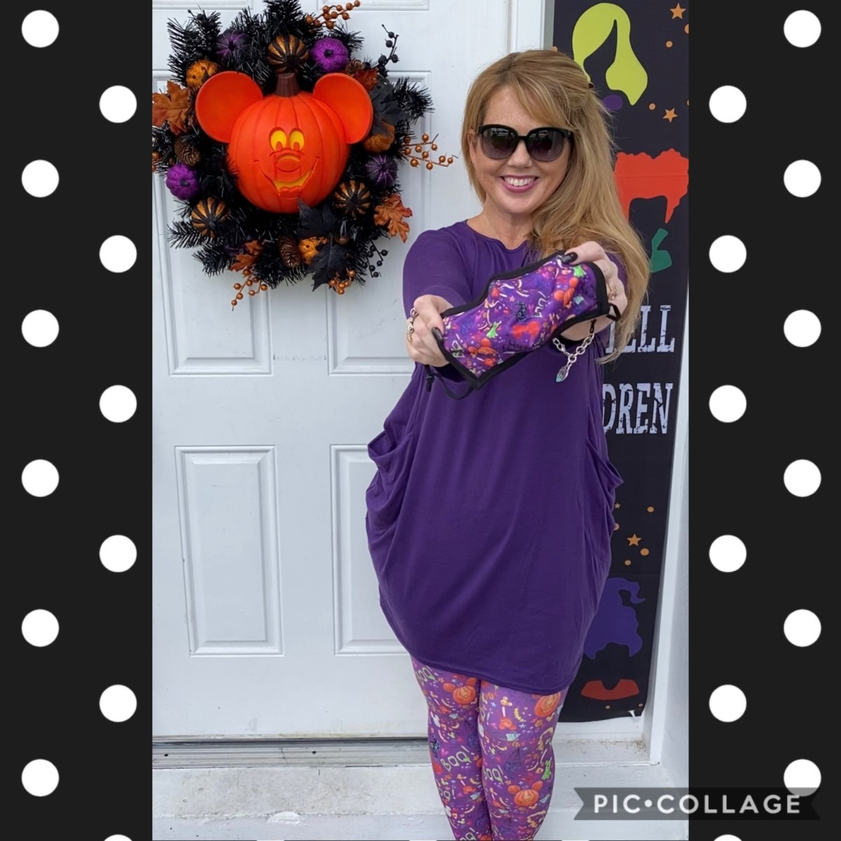 Boo to You! Free Matching Face Mask with Select Leggings! 3