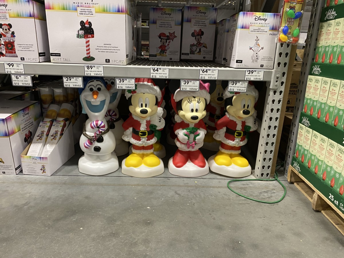 New Disney Christmas Decor Now at Lowe's! 8