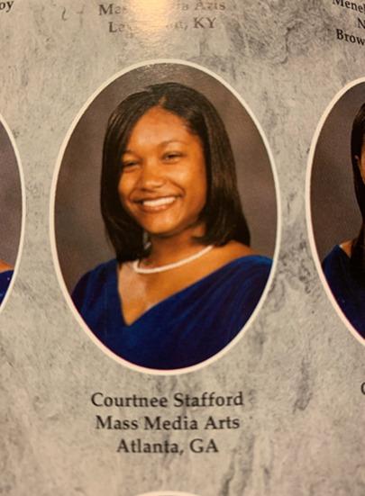 Courtnee Collier, Hampton University Yearbook Photo