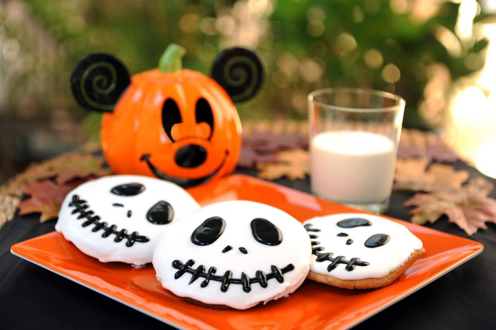 Jack Skellington Sugar Cookies from Disney Parks