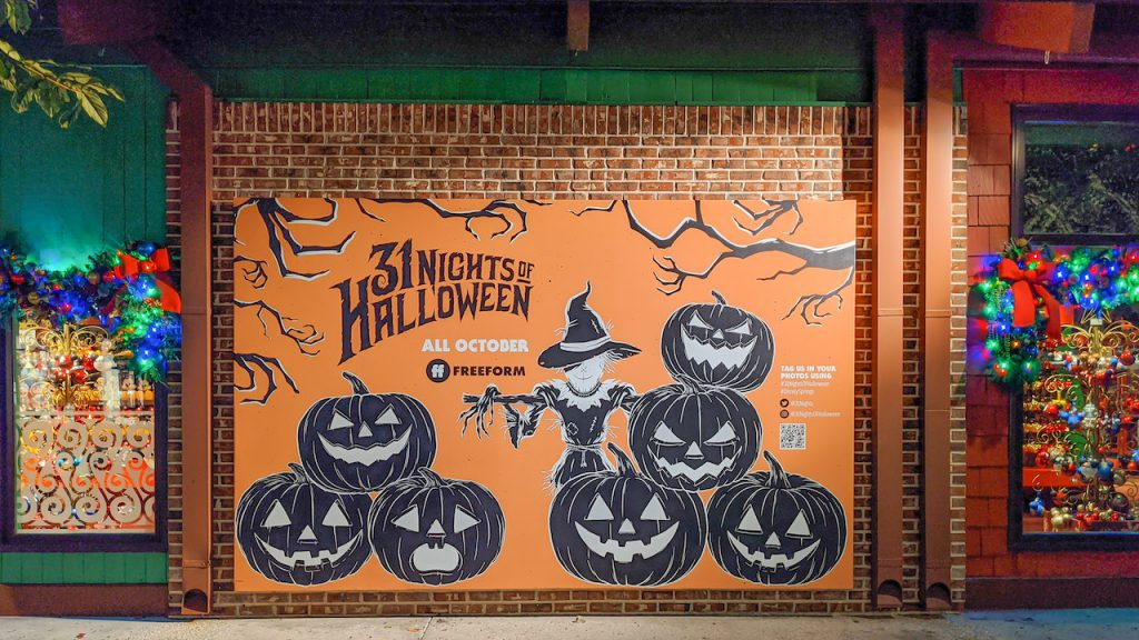 '31 Nights of Halloween' Photo Wall at Disney Springs