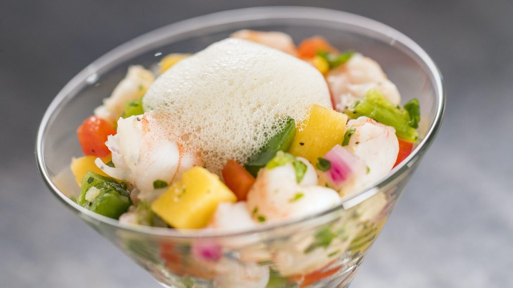 Shrimp ceviche from EPCOT