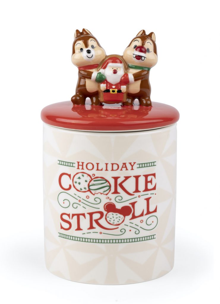 Chip and Dale Cookie Stroll cookie jar