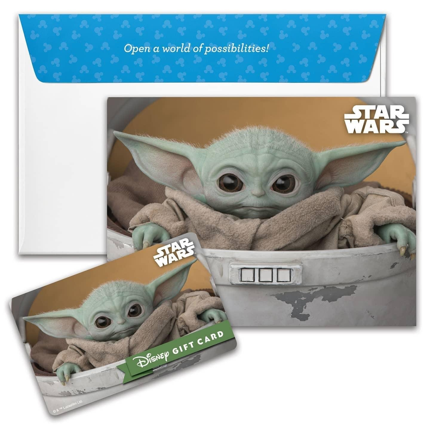 New Disney Gift Card Designs for Your Holiday Gift Giving from shopDisney! 2