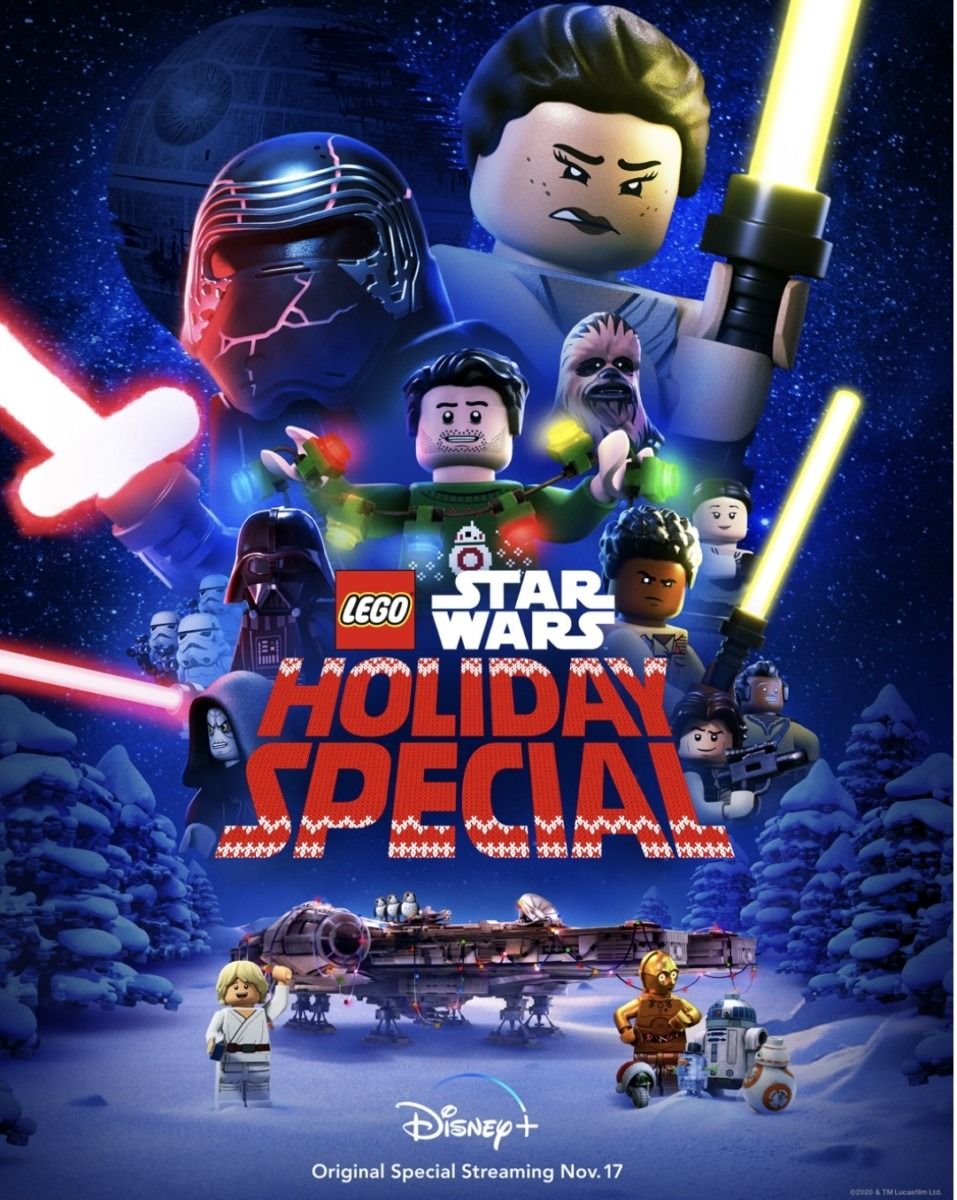 "DISNEY+ SHARES ""LEGO STAR WARS HOLIDAY SPECIAL"" TRAILER 1"