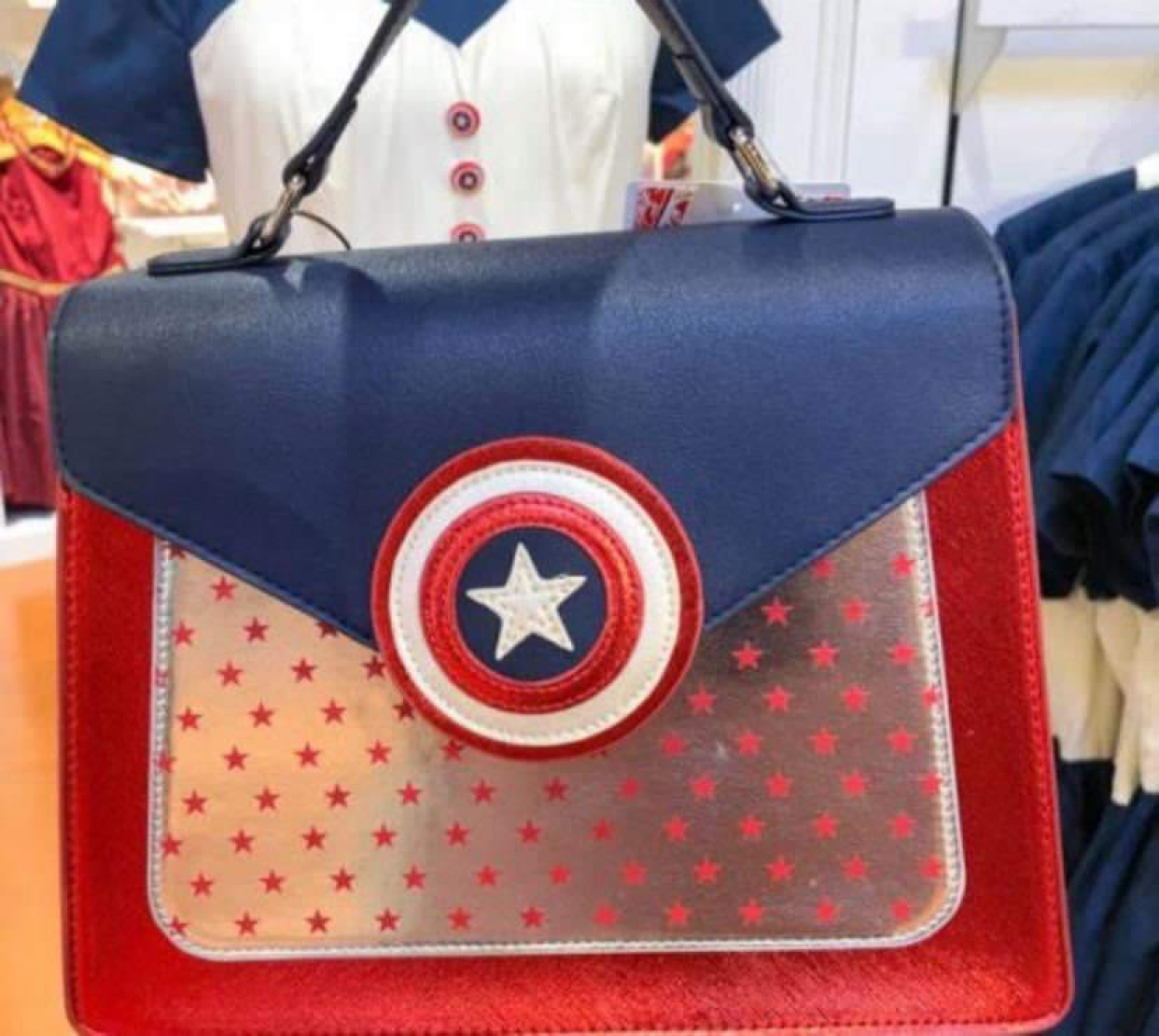 New Captain America Dress & Handbag at WDW 2
