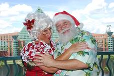 Santa and holiday festivities return to the Walt Disney World Swan and Dolphin Resort with new Santa's Village themed area! 1
