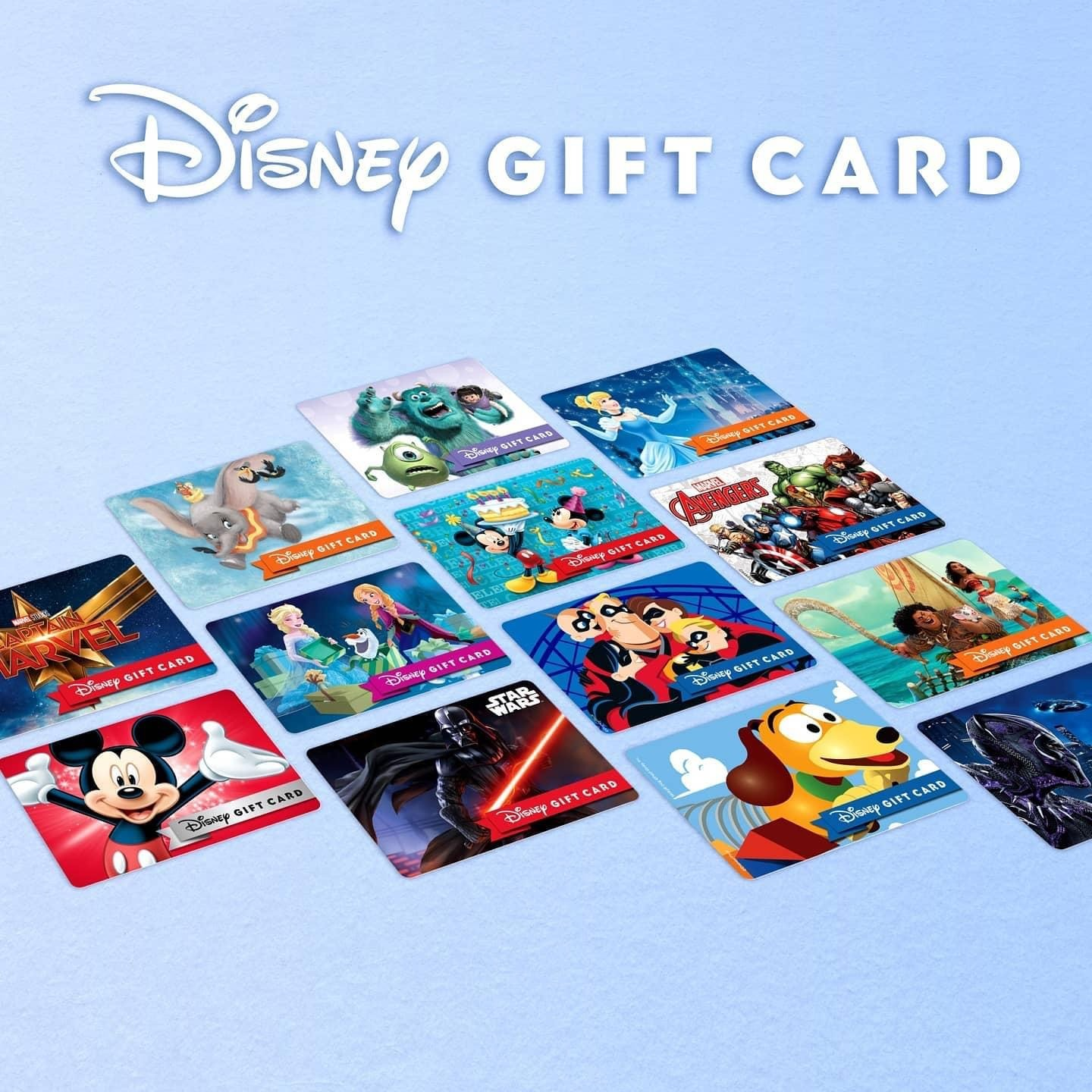 New Disney Gift Card Designs for Your Holiday Gift Giving from shopDisney! 1