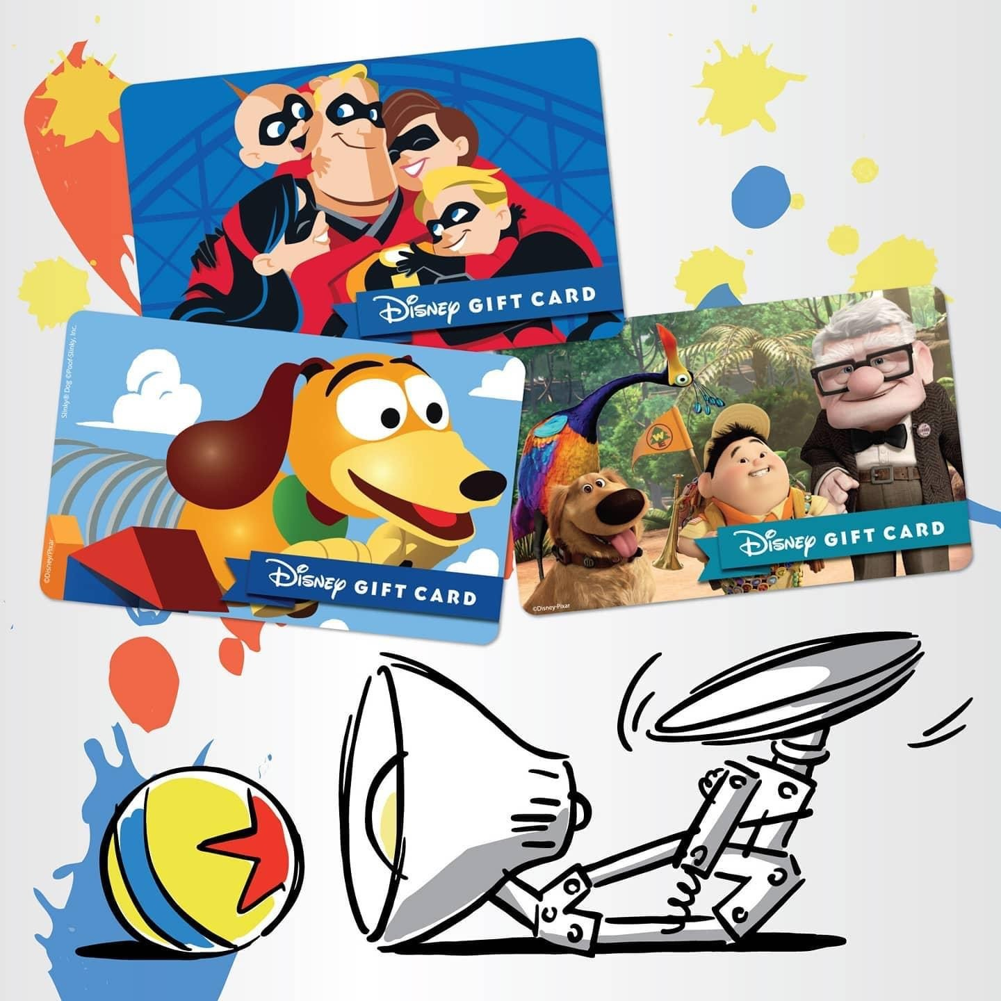New Disney Gift Card Designs for Your Holiday Gift Giving from shopDisney! 4