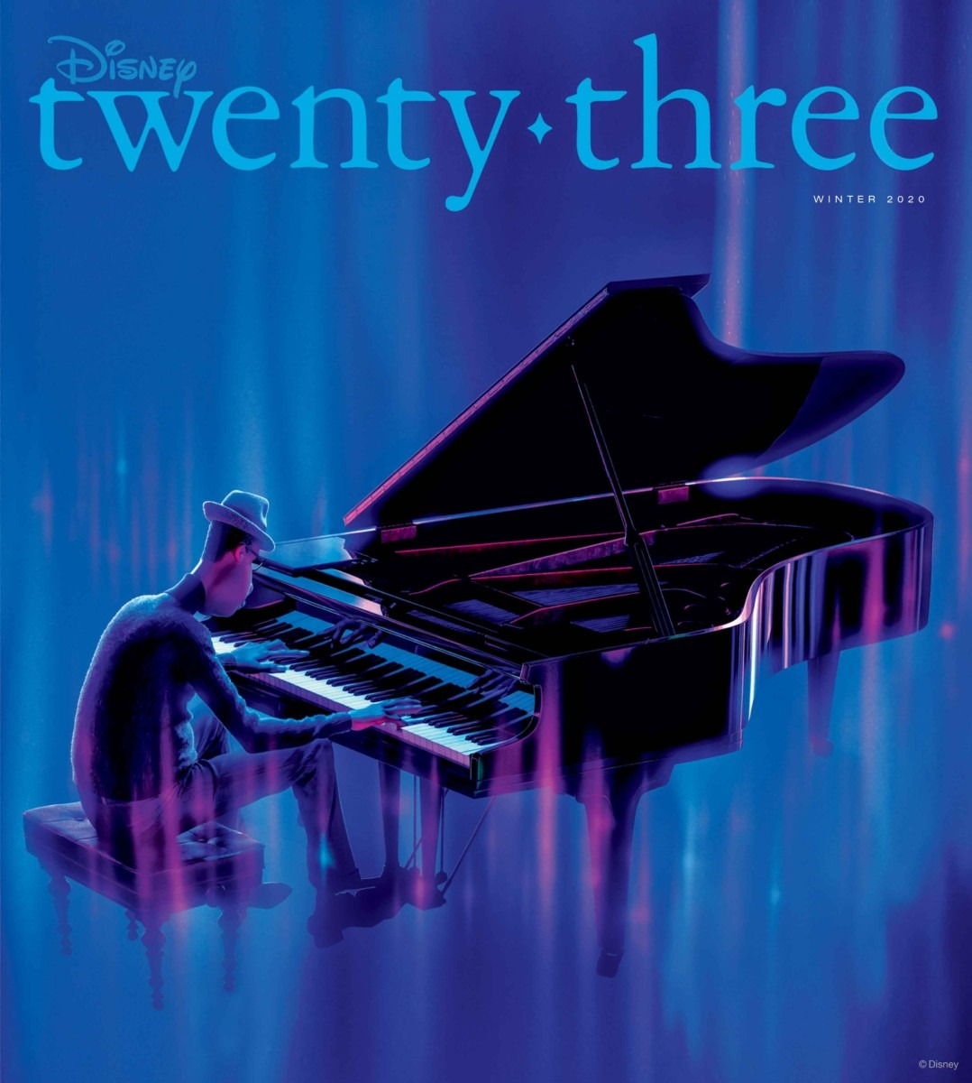 """""""Soul"""" featured on the cover of Winter 2020 issue of """"Disney twenty-three"""" 1"""