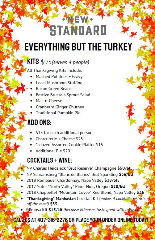 Make Thanksgiving Dinner Plans at Disney Springs! 2