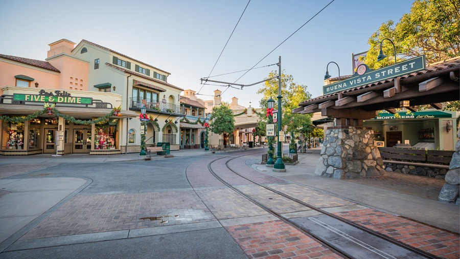 Buena Vista Street at Disneyland Resort