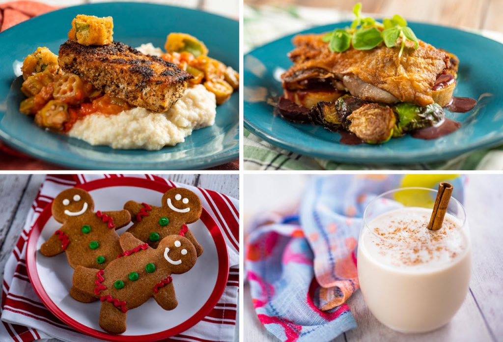 Offerings from Festival Favorites at the 2020 Taste of Epcot International Festival of the Holidays