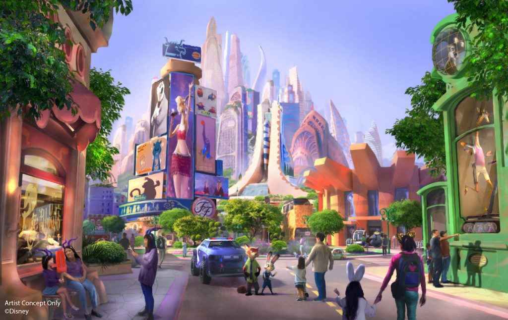 Zootopia-inspired land coming to Shanghai Disney Resort