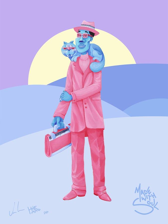 """HUE x Pixar - CoryVan Lew - """"The Great Gardner"""""""