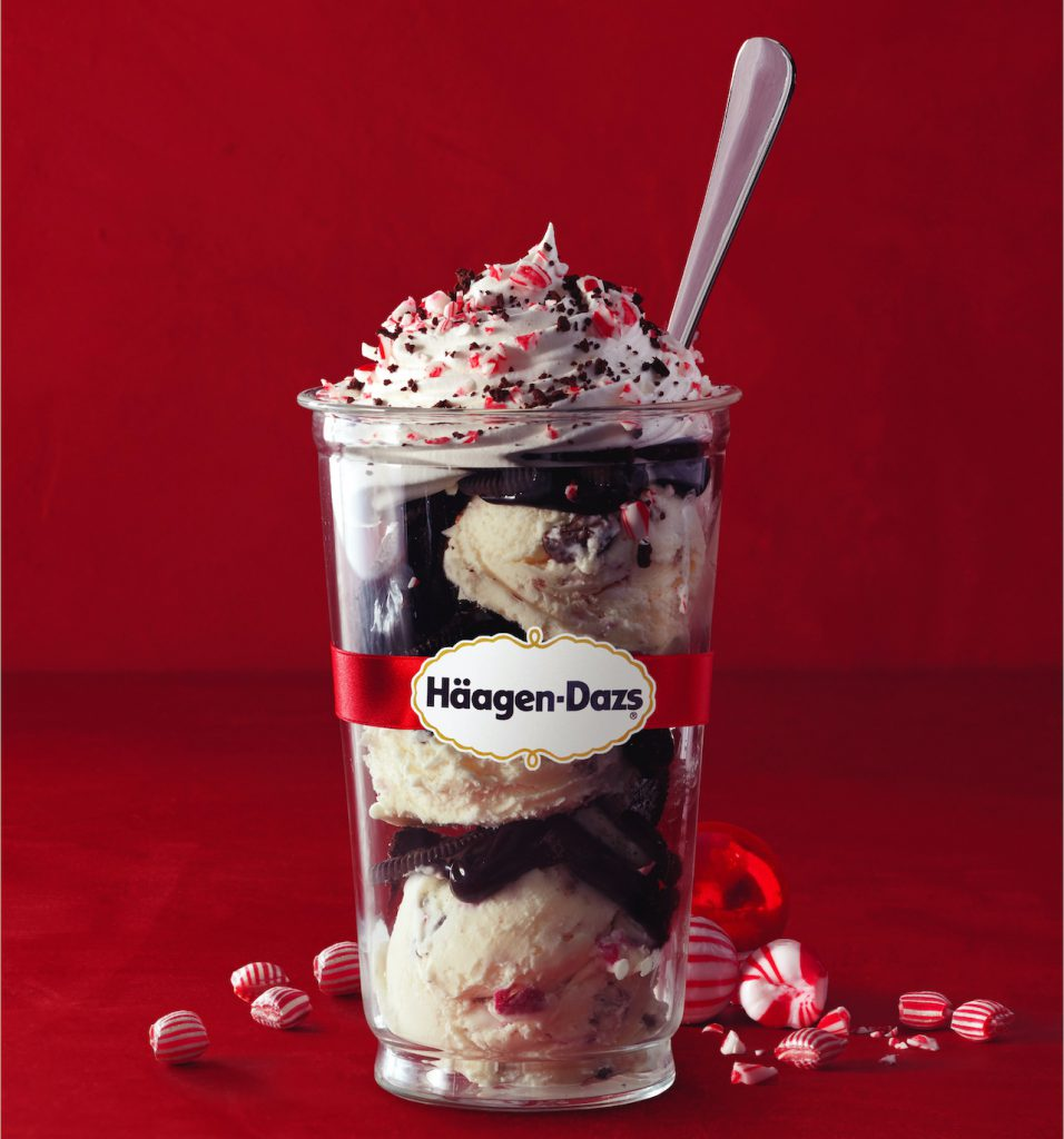 Peppermint Bark Ice Cream, Häagen-Dazs