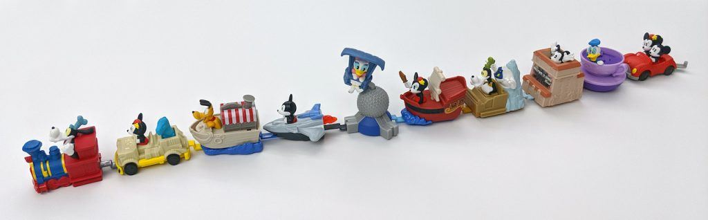 New Line of Happy Meal Toys at McDonald's