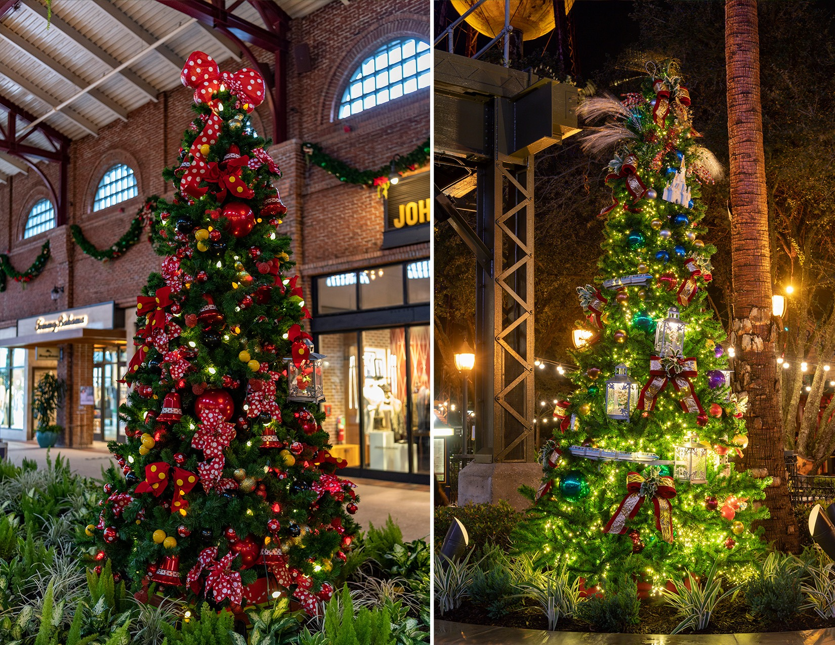 Disney Springs Christmas Tree Stroll