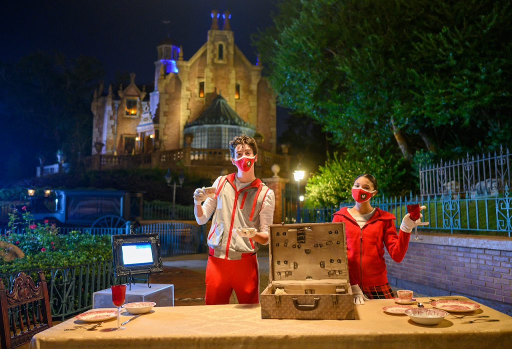 "Disney Channel's ""ZOMBIES 2"" stars, Milo Manheim and Kylee Russell, compete in ""Disney Holiday Magic Quest,"" a high-stakes, holiday adventure inside Magic Kingdom Park at Walt Disney World Resort after dark."