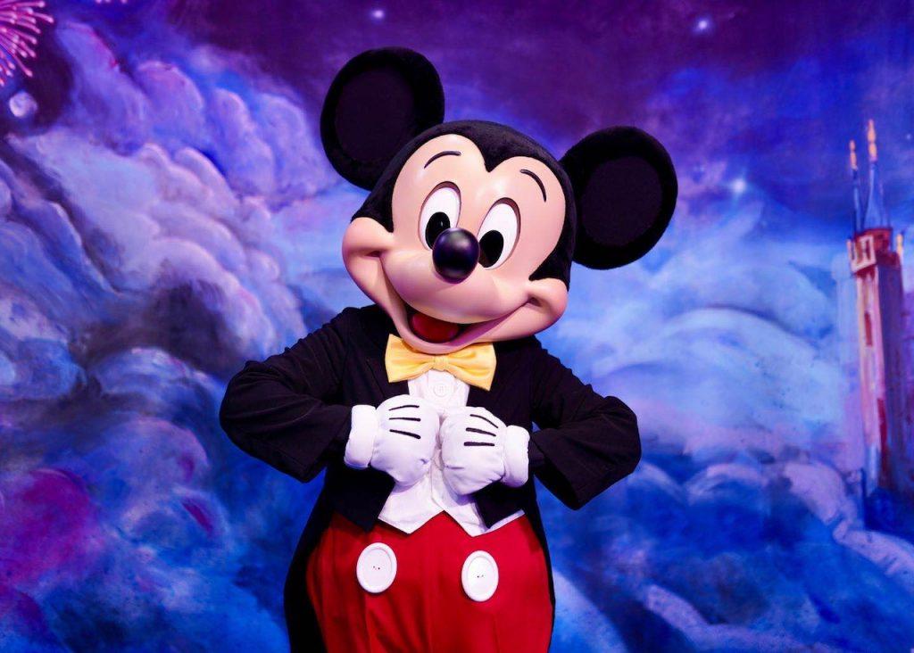 Mickey Mouse at Shanghai Disney Resort