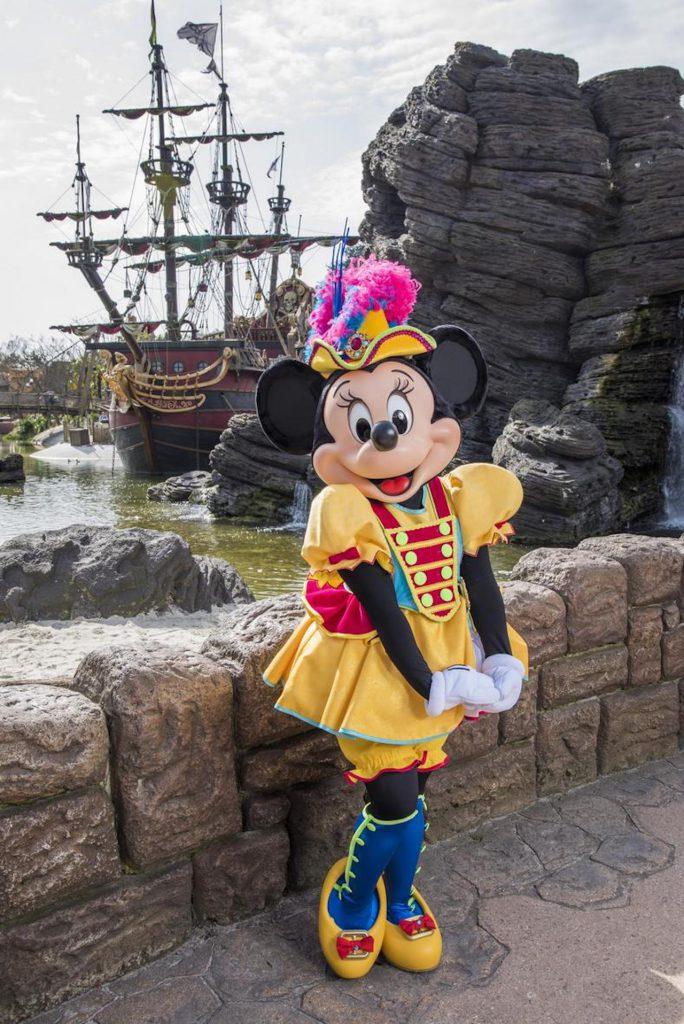 Minnie Mouse at Disneyland Paris