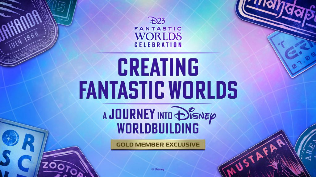 Creating Fantastic Worlds: A Journey into Disney Worldbuilding Logo