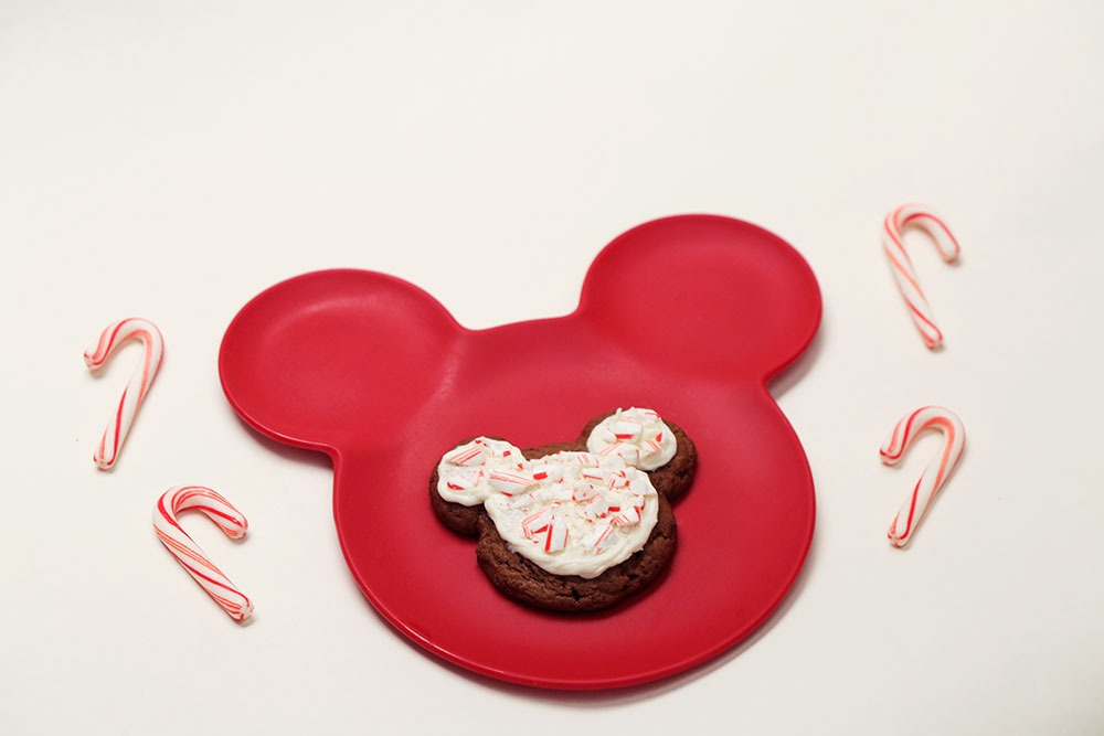 Mickey Mouse Peppermint Cookies- Recipe 1