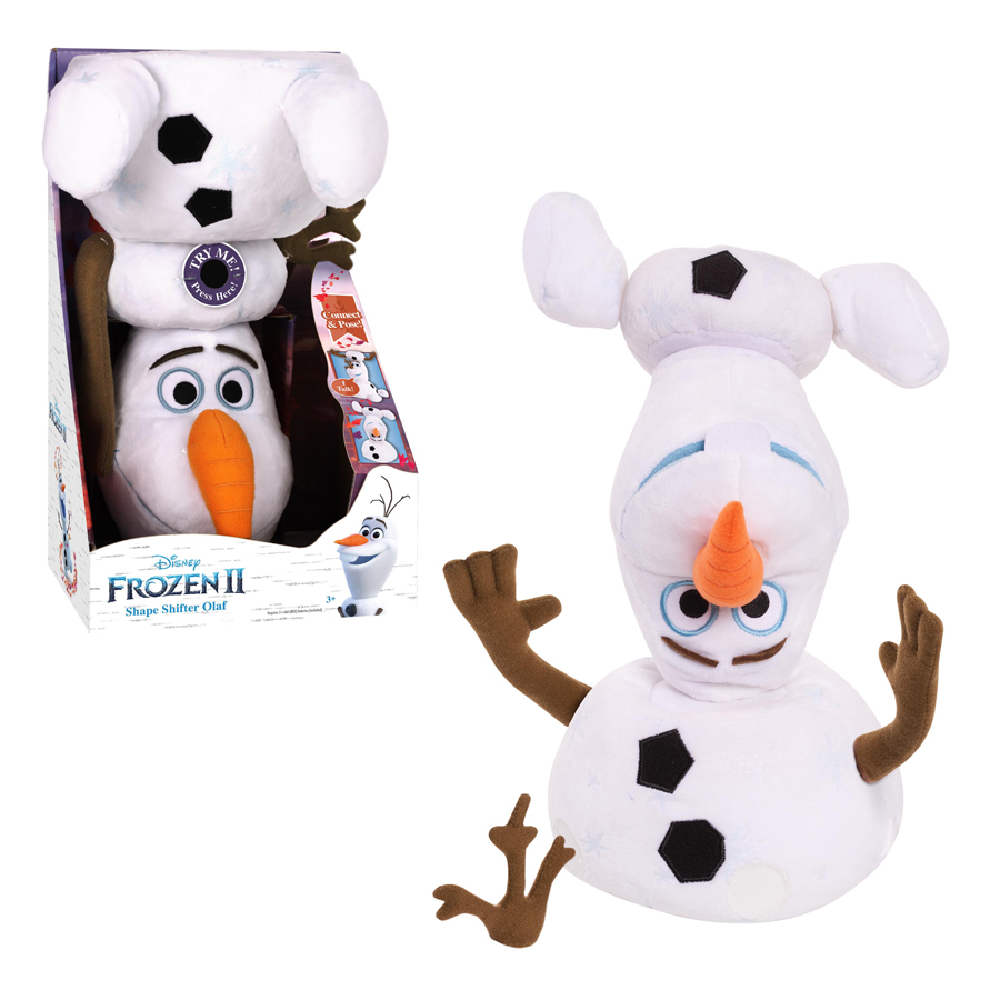 Shape Shifter Olaf plush toy