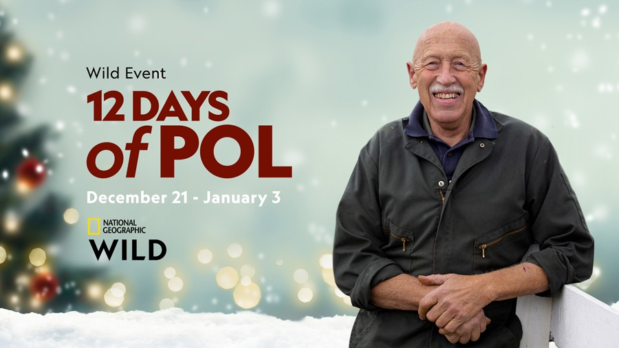 Wild Event - 12 Days of POL - December 21 - January 3 - National Geographic Wild