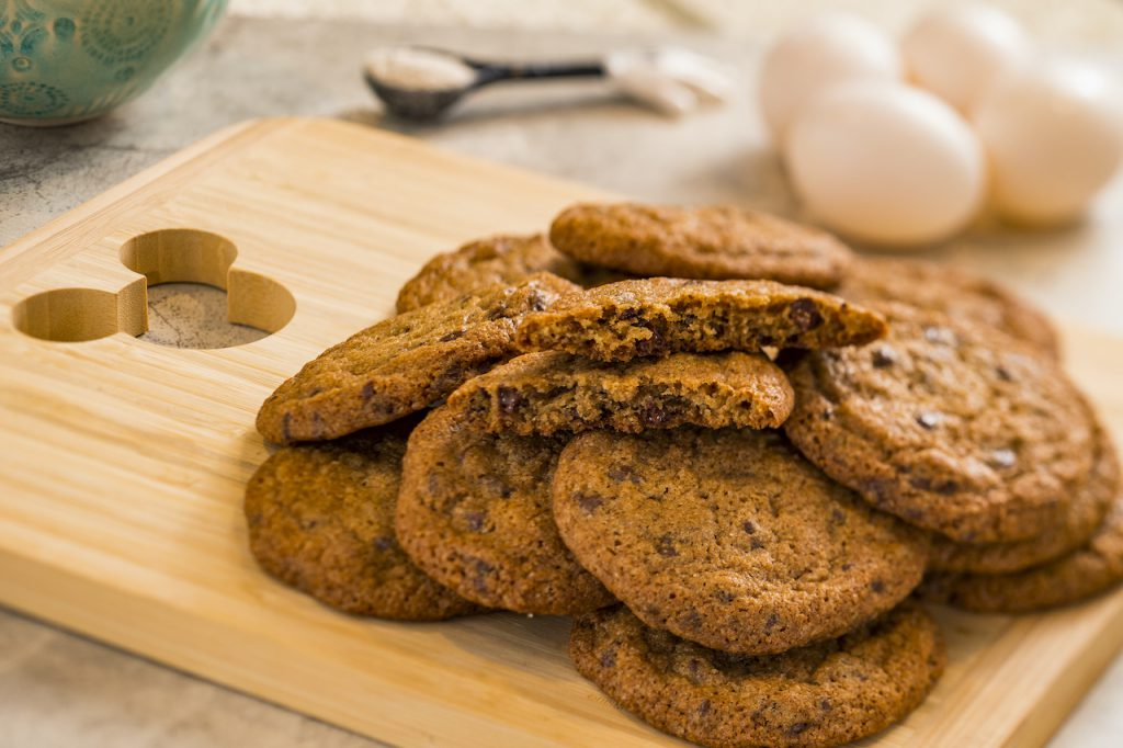 Whole Wheat Chocolate Chip Cookies from Disney's Contemporary Resort Bakery