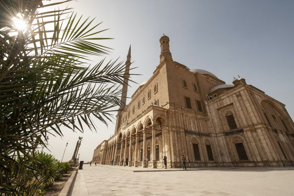 Visit the Mosque of Muhammad Ali in Cairo with an Adventures by Disney Egypt Vacation